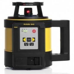 Niwelator laserowy Leica Rugby 840, RE180 Digital RF, RC400, Alkaline